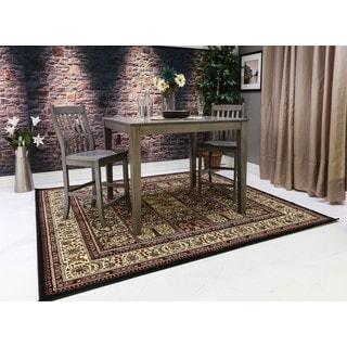 Oh! Home Persian Treasures Bakhtiari Oriental Polypropylene Square Area Rug (8' x 8')