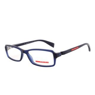 Prada Eyeglass Frames VPS 04B 0AX-1O1, Navy Blue Frame, Size 53