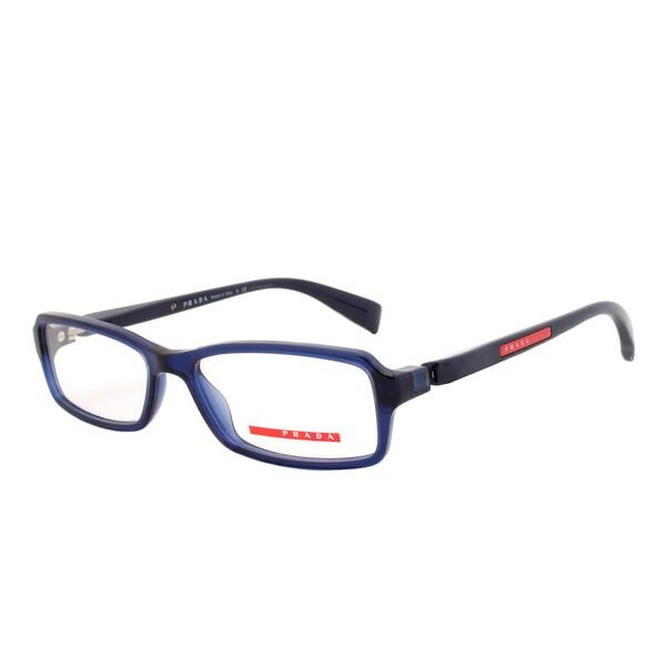 prada saffiano executive small tote bag - Prada Eyeglass Frames VPS 04B 0AX-1O1, Navy Blue Frame, Size 53 ...