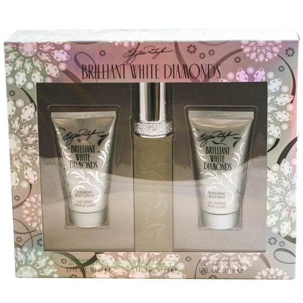 Elizabeth Taylor Brilliant White Diamonds 3-piece Gift Set