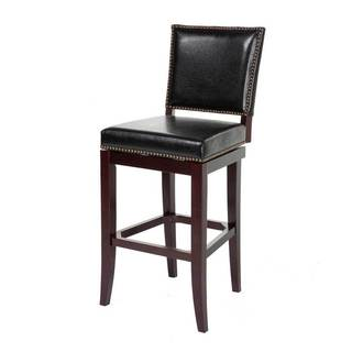 Fashion Bed Group C1X110 Sacramento Wood Bar Stool Black/ Espresso