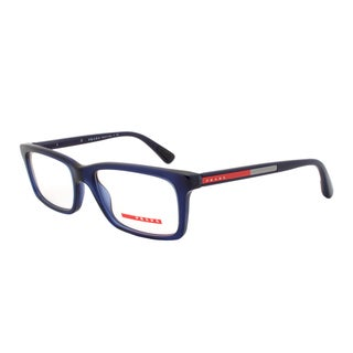 Prada Eyeglass Frames VPS 02C 0AX-1O1 Navy Blue Frame, Size 53