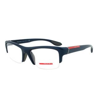 Prada Eyeglass Frames VPS 04E SMB-1O1, Dark Navy Frame, Size 53