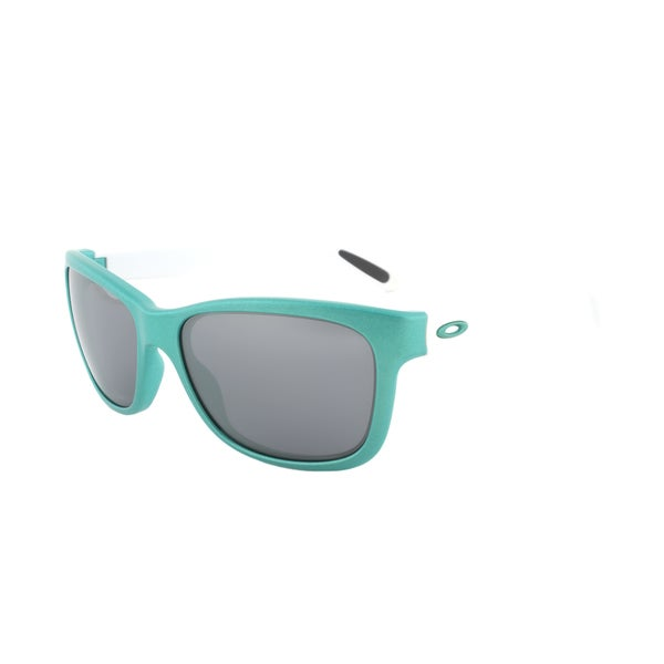 Oakley Forehand Sunglasses OO9179-22, Teal Frame, Grey Reflective Lens