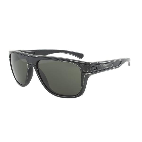 Oakley Breadbox Sunglasses OO9199-15, Black Decay Frame, Dark Grey Lens
