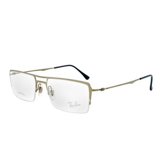 Ray-Ban RX 8713 1156 Rectangular Eyeglass Frames, Gunmetal Frame, Size 55