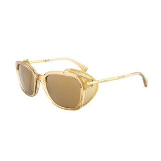 Emporio Armani Sunglasses EA4028Z 5207/6H, Transparent Gold Frame, Gold Mirror Lens