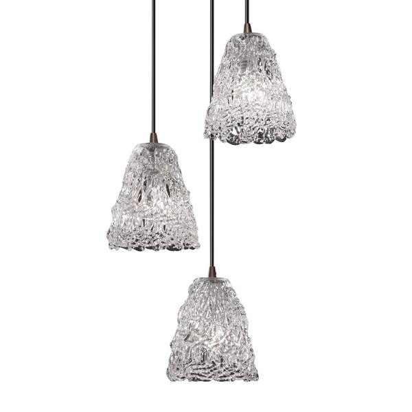 Justice Design Group Veneto Luce 3-light Dark Bronze Cluster Mini-pendant 15845079