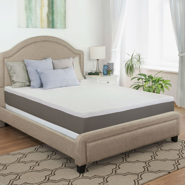 Maxrest Eco Friendly 10-inch California King-size Gel Memory Foam Mattress