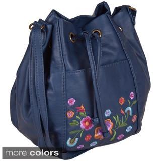 Bueno 'Katee' Vegan Leather Mini Shoulder Handbag