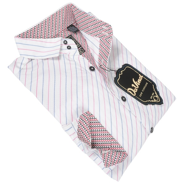 DaVinci Men's Melvin White Shirt
