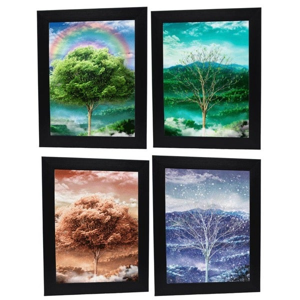 The Four Seasons of the Year Framed 3D Wall Art