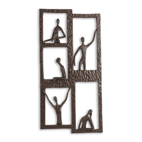 Danya B Windows to the World Iron Wall Hanging