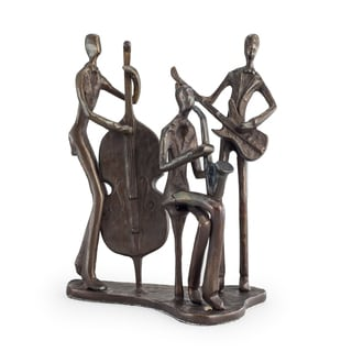 Danya B Jazz Trio Bronze Sculpture
