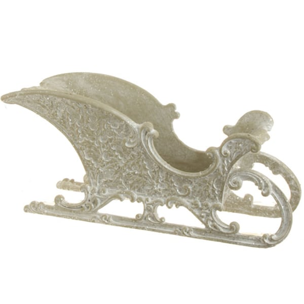 Winter Holly Sleigh Decorative Accent 15845885
