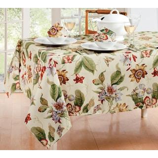 Waverly Laurel Springs Micro Fiber Table Cloth