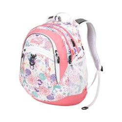 High Sierra Fat Boy Wonderland/Pink Lemonade/White Backpack
