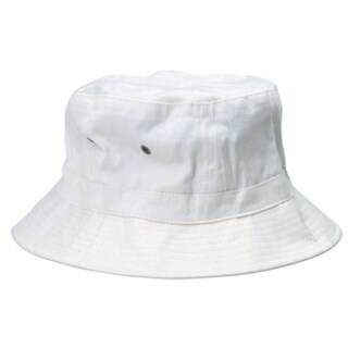 Hunter S Thompson White Bucket Hat Fear and Loathing in Las Vegas Raoul Duke