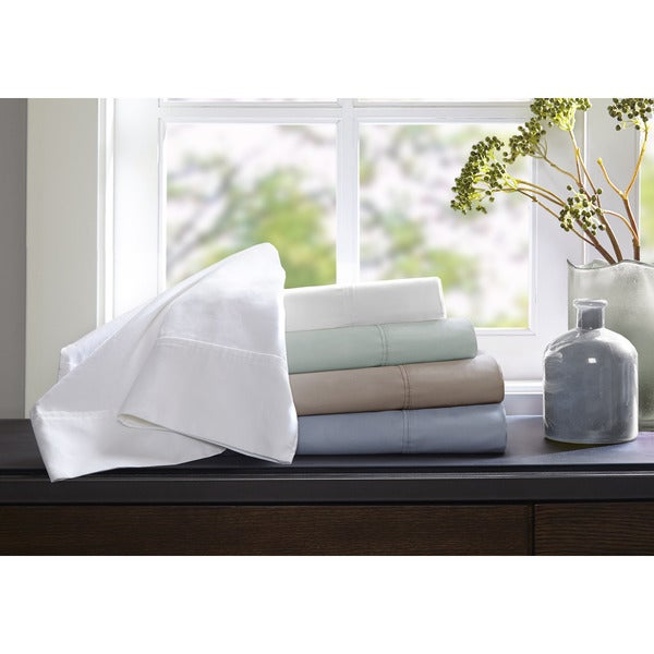 Sleep Philosophy 400TC Cotton Wrinkle Warrior Sheet Set