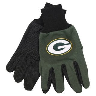 Green Bay Packers NFL Utility Gloves (Pair)