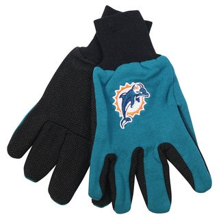 Miami Dolphins NFL Utility Gloves (Pair)