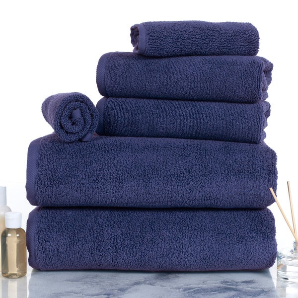 Windsor Home 100-percent Egyptian Cotton Zero Twist 6-piece Set Towels