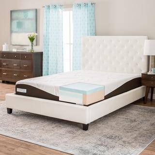 ComforPedic from Beautyrest 10-inch Twin-size Gel Memory Foam Mattress
