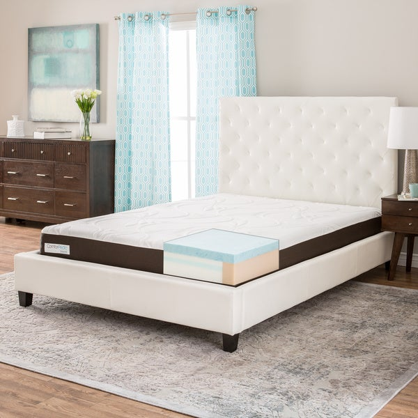 ComforPedic from Beautyrest 8-inch Twin-size Gel Memory Foam Mattress