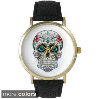 Olivia Pratt Women's Sugar Skull Watch