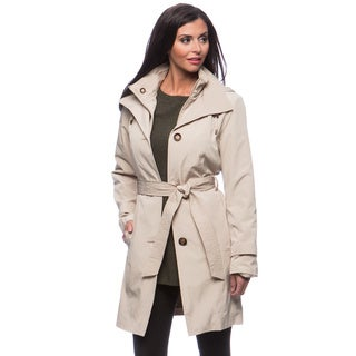 London Fog Missy Double Collar Women's Coat