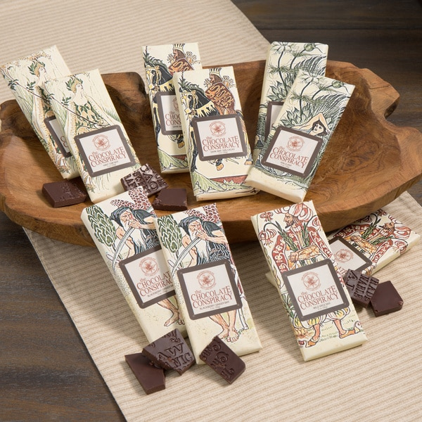 The Chocolate Conspiracy Chocolate Bar Assortment (Set of 5)