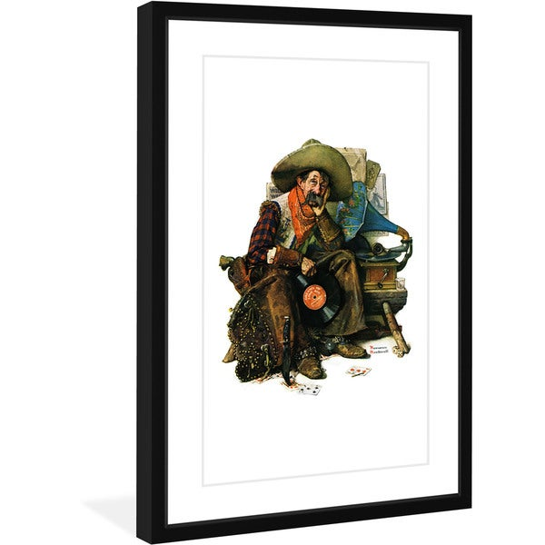 "Marmont Hill - ""Dreams of Long Ago"" by Norman Rockwell Painting Print on Canvas"