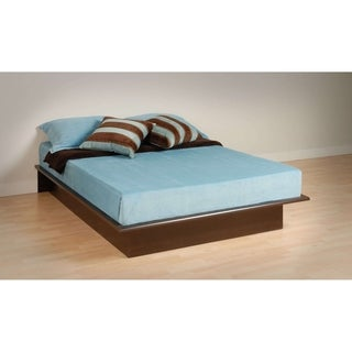 Everett Espresso Full Platform Bed