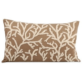 Coralyn Down Filled 20-inch Throw Pillow