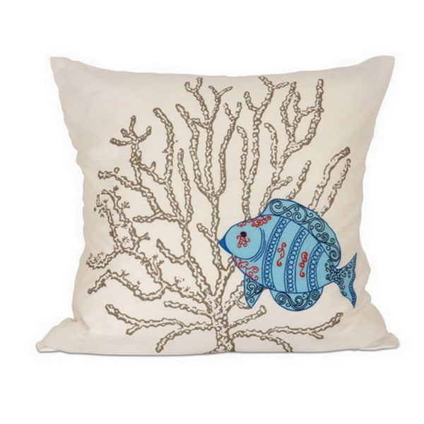 Mediterranea Down Filled 20-inch Throw Pillow