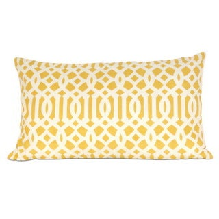 Arabesque Down Filled 20-inch Throw Pillow
