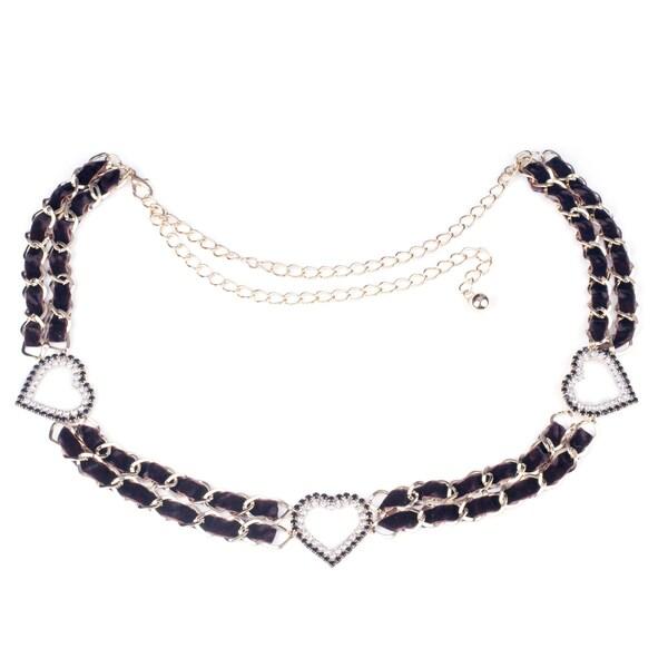 J. Furmani Hearts Chain Belt