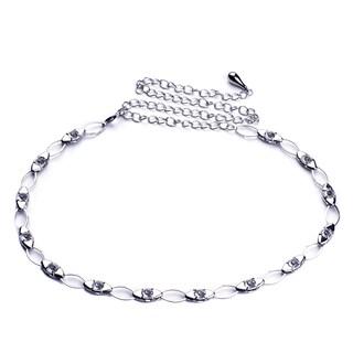 J. Furmani Glass Chain Link Belt