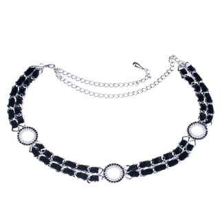 """J. Furmani Women's """"Circles"""" Chain Belt"""