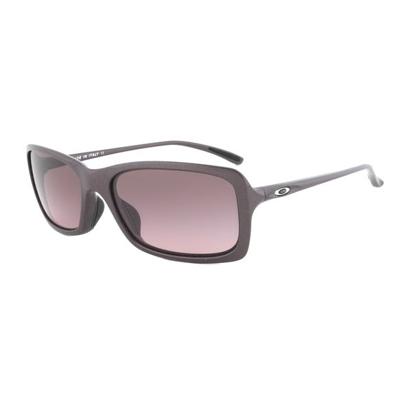 Oakley Hall Pass Sunglasses OO9203-06, Plum Frame, Purple Gradient Lens