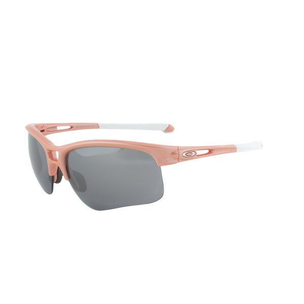 Oakley RPM Edge Sunglasses OO9257-02, Grapefruit Pearl Frame, Black Iridium Lens