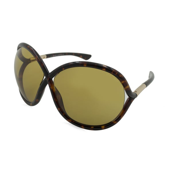 Tom Ford Francoise Sunglasses TF272 52J, Tortoise Shell Frame, Brown Lens