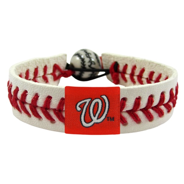 Washington Nationals MLB Classic Baseball Bracelet