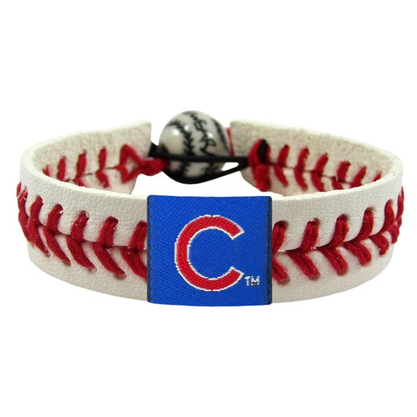 Chicago Cubs MLB Classic Baseball Bracelet