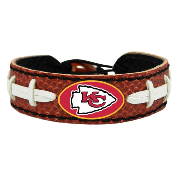 Kansas City Chiefs NFL Classic Football Bracelet