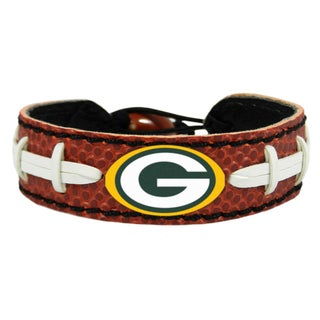 Green Bay Packers NFL Classic Football Bracelet