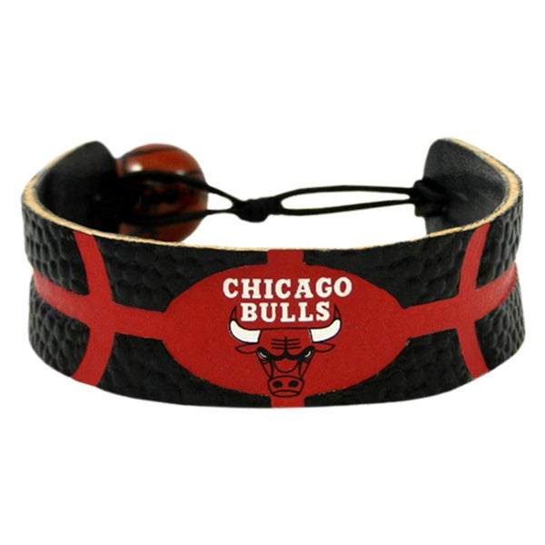 Chicago Bulls Team Color NBA Basketball Bracelet