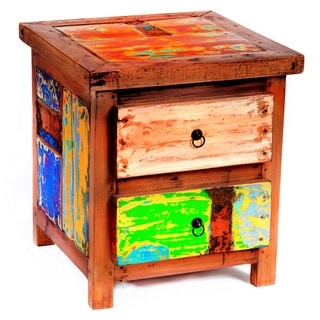 Crafted Home S Aiden Cube Side Table