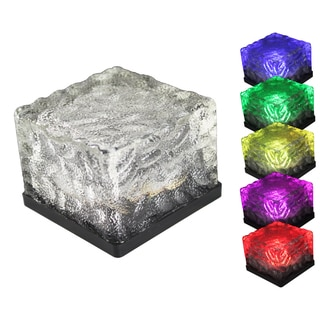 As Seen On TV Solar Powered LED Glass Rock (Set of 3)