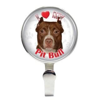 iLeesh I Love My Pit Bull Leash Holder